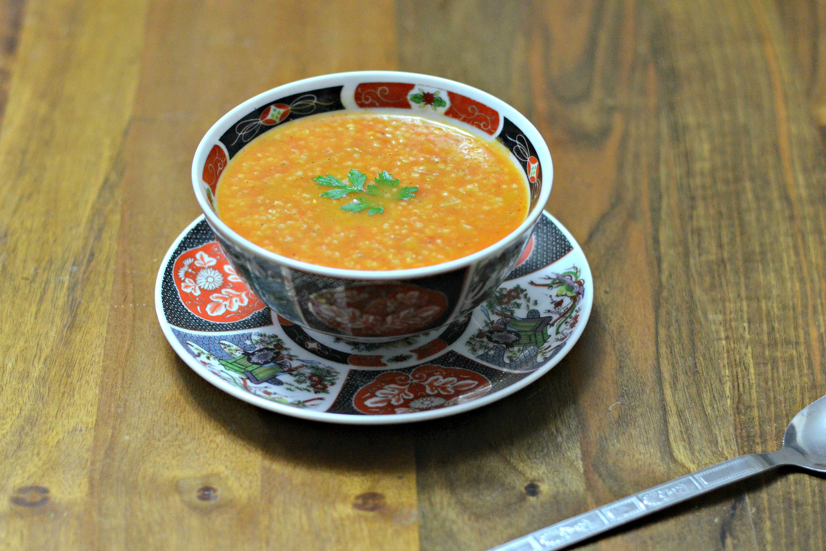 Moroccan Cracked Barley Soup with Tomatoes – Hssoua Belboula Hamra