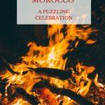 Pinterest image of Ashura bonfire