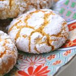 A Moroccan almond ghrieba or macaroon