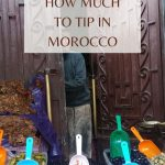 Pinterest image for Tipping in Morocco