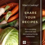 Pinterest image for recipe submissions to Taste of Maroc