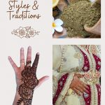 Collage of henna